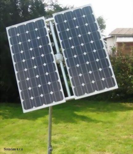 Samozrejme môžete tiež pripojiť niekoľko malých solárnych modulov na Sun Tracer.